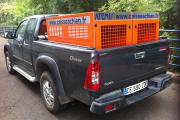 1 - Caisse à chien PICK UP Dmax ISUZU