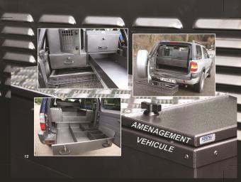 Amenagement Vehicule Pour Chien aménagement de véhicule - réalisation | atemis - caisse a chien